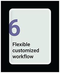 Flexible Customized Workflow