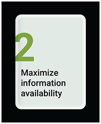 Maximize Information Availability