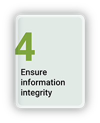 Ensure Information Integrity