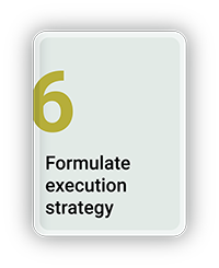 Formulate Execution Strategy