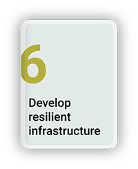 Develop Resilient Infrastructure