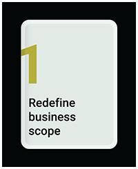 Redefine Business Scope