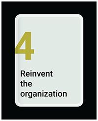 Reinvent the Organization
