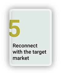 Reconnect with the Target Market