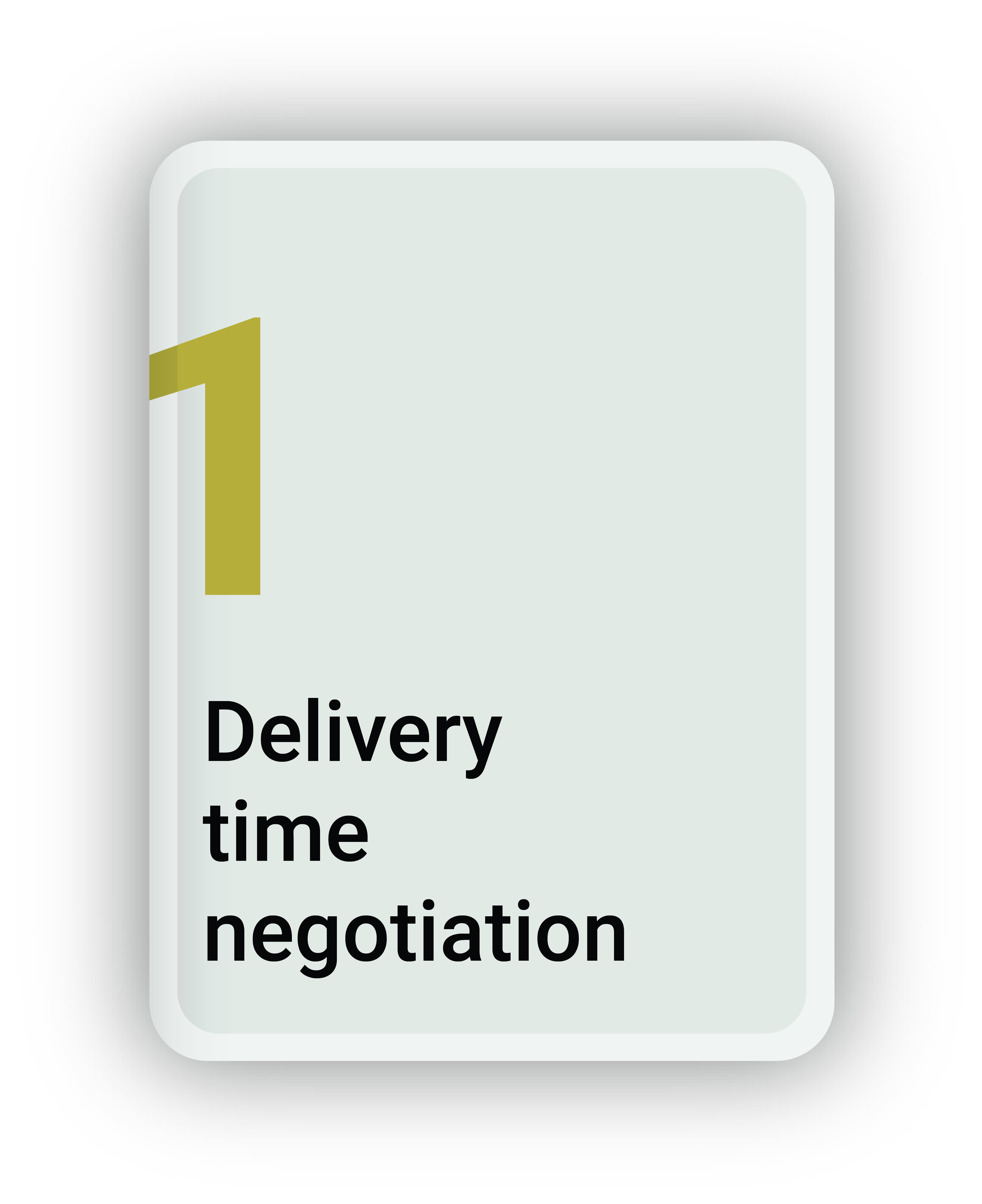 Delivery Time Negotiation
