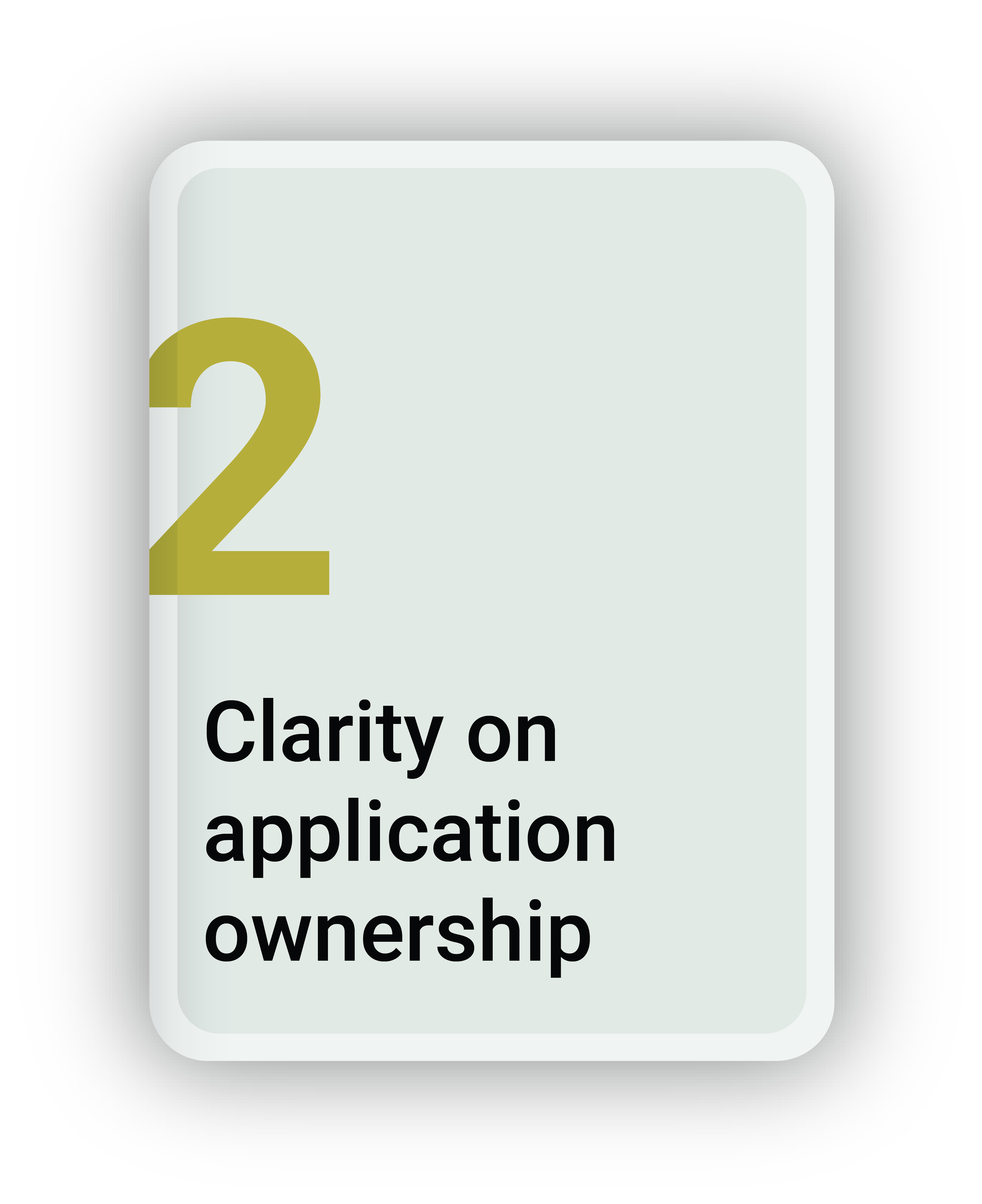 Clarity on Application Ownership