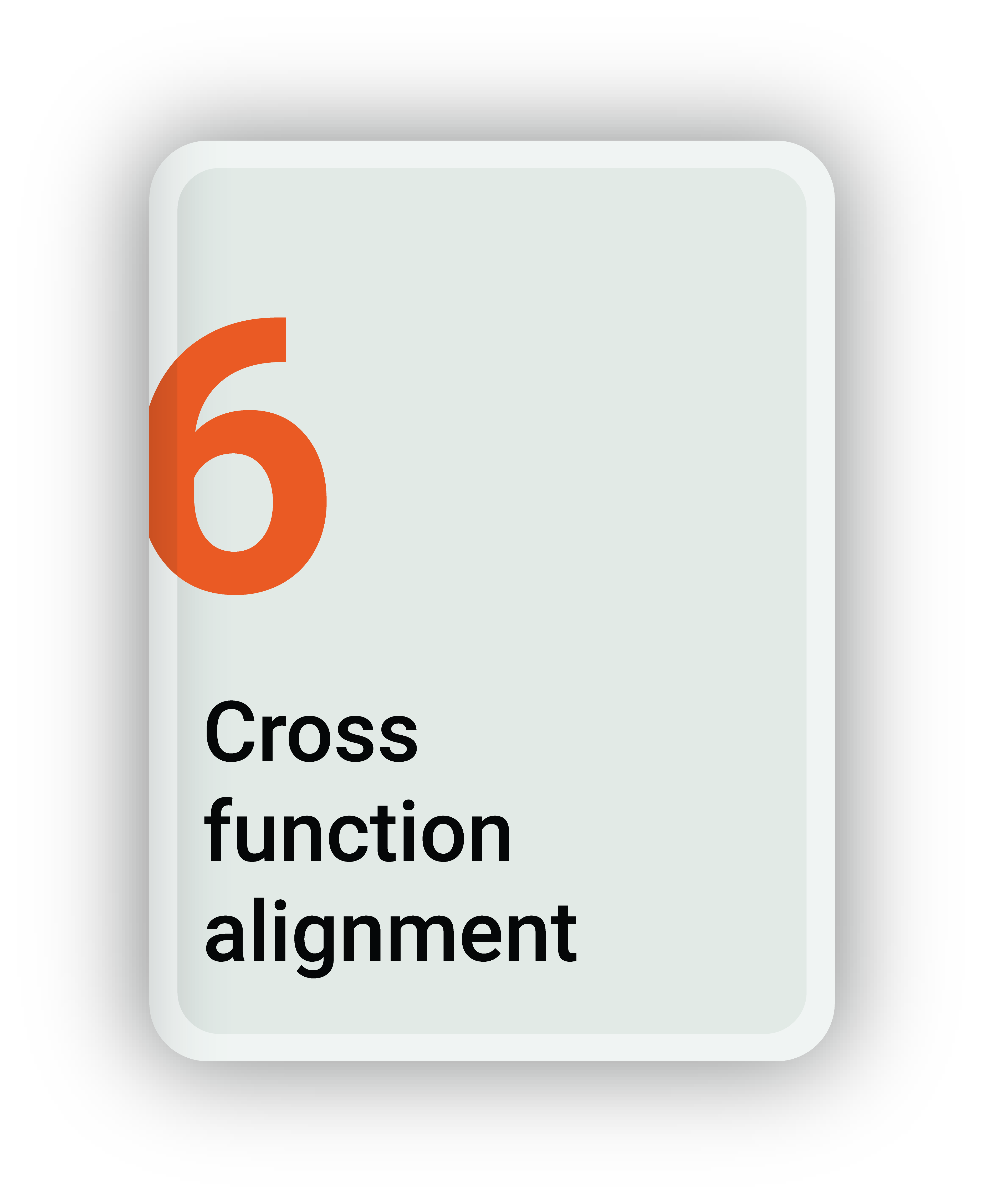 Cross Function Alignement
